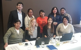 Equal Rights Trust with stakeholders on its factfinding mission in Latin America