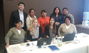 Equal Rights Trust with stakeholders during its factfinding mission in Latin America