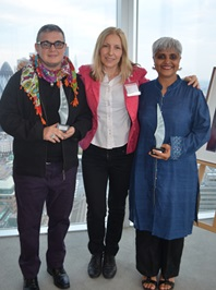 Mauro Cabral, Dimitrina Petrova and Pragna Patel.