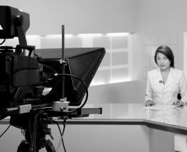 TV anchorwoman