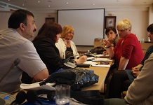 Equality activists being trained in Croatia