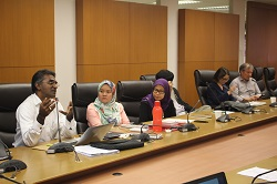 A workshop with litigators in Malaysia